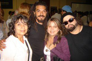 Promotora Cultural Marianelena Dufflar, Cantautor X alfonso, Cantautor Carlos Valera